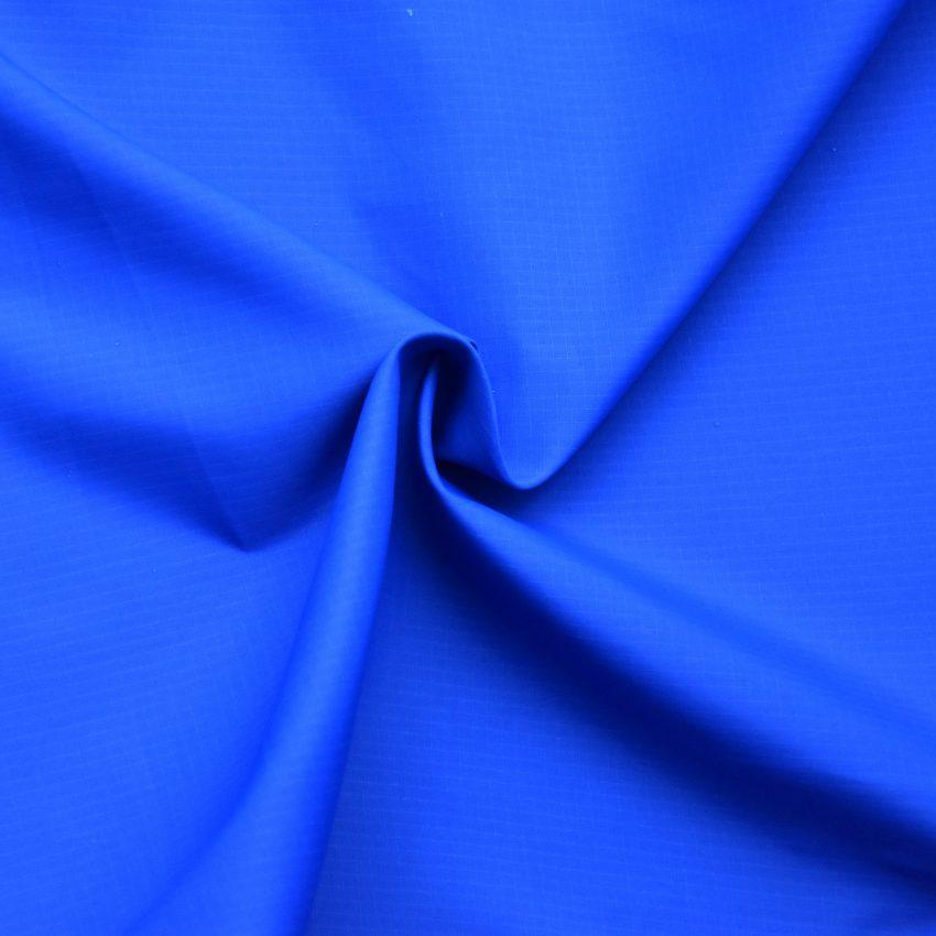 Ripstop nylon niebieski