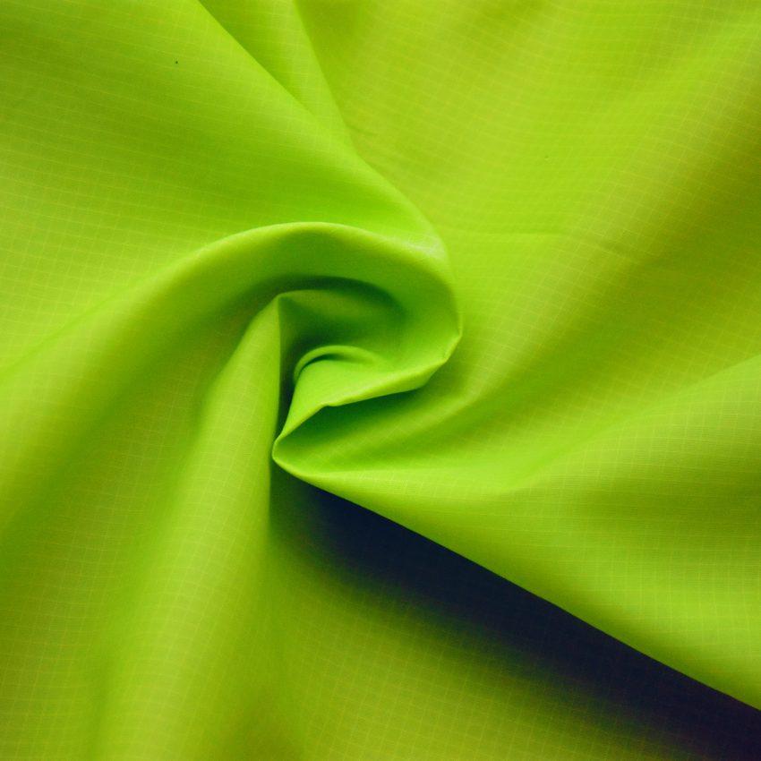 Ripstop nylon zielony
