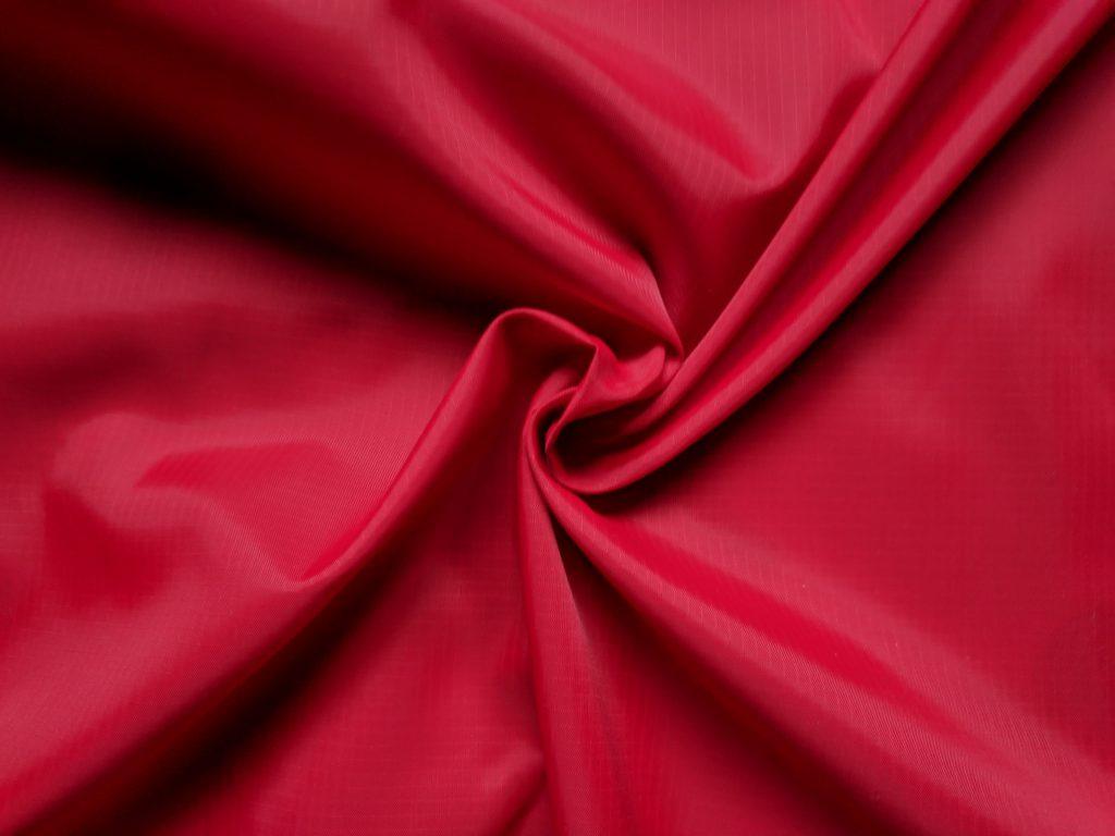 Ripstop nylon czerwony