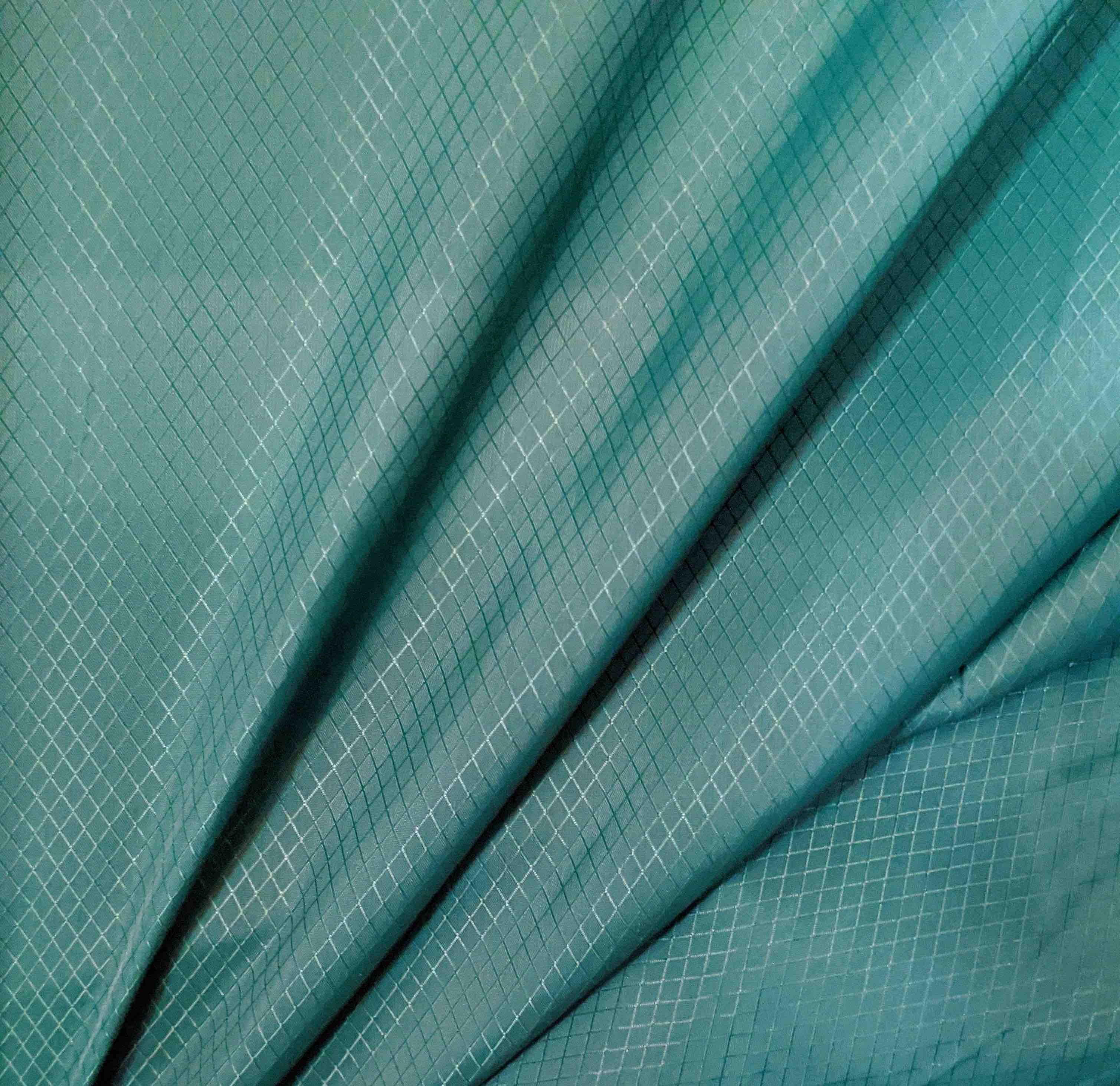 ripstop nylon zielony diament